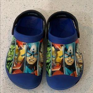 Marvel Avenger Boy's Crocs